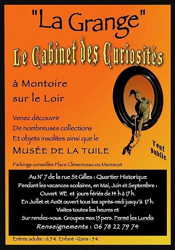 Cabinet de curiosités/Musée de la tuile
