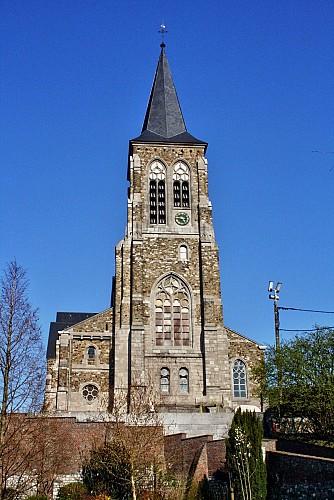L'église Saint Hadelin et Saint Martin