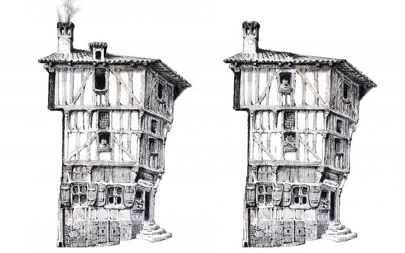 Les maisons anciennes