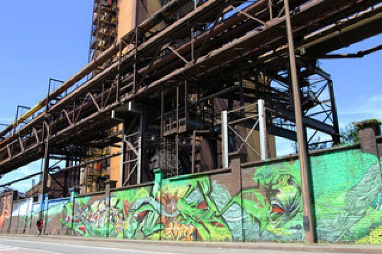 The Urban Dream project: a street art trail in Charleroi