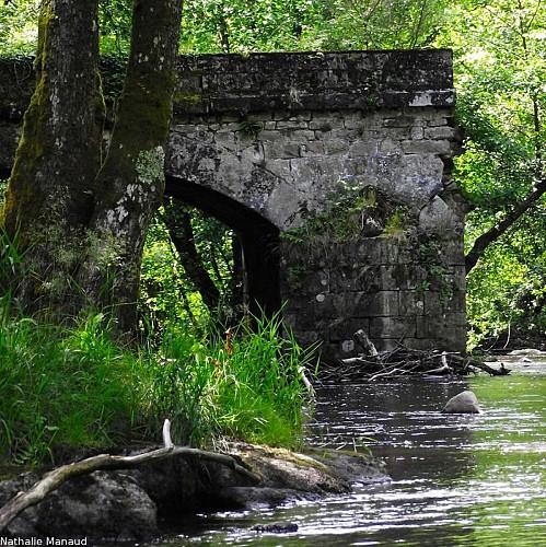 Le pont avant la Gaparde