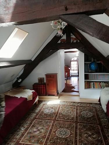 Maison en Pierre Fleurie