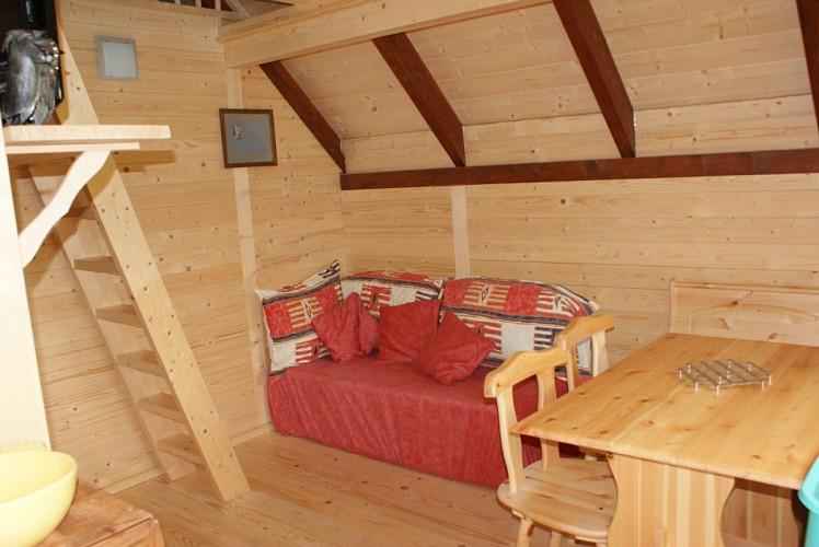 Location La Hutte Gauloise - Domaine Moulin de Lachaud