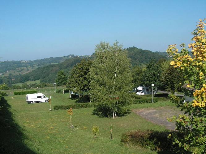 Aire d'accueil de camping-cars d'Ayen