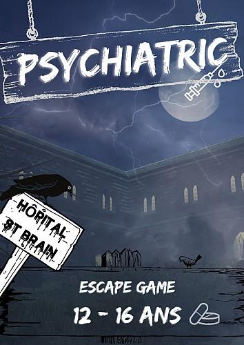 Tableau BRAIN L'Escape Game La Teste