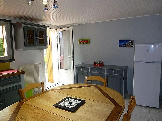 Location Etchegaray - Autre vue cuisine - St martin Arrossa
