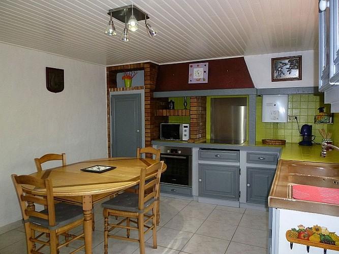Location Etchegaray - Vue cuisine - St Martin Arrossa