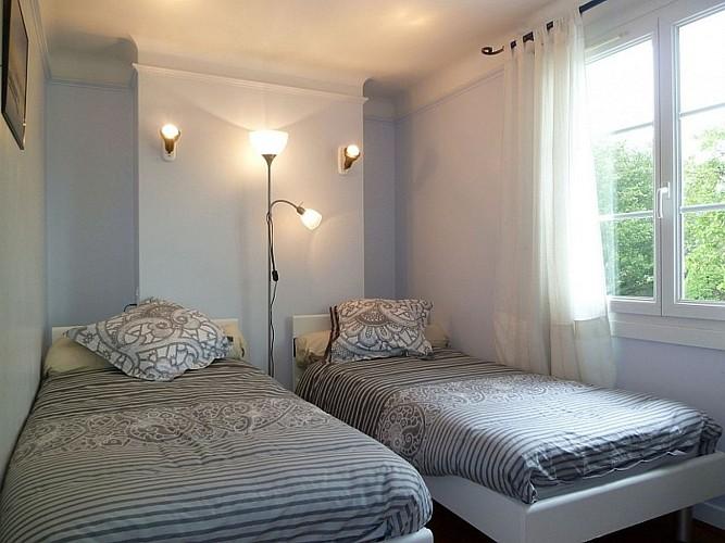 Location Etchegaray - Chambre 2 lits - St Martin Arrossa