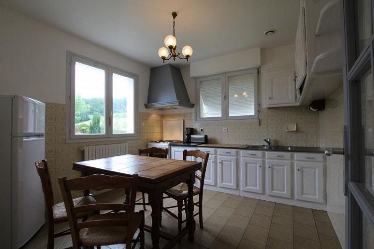 Maison Erramouspe cuisine - Ascarat