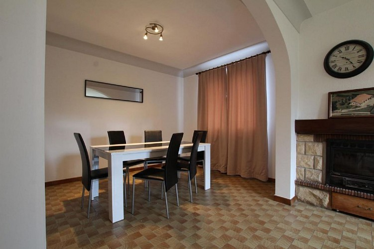 Maison Erramouspe espace salle a manger - Ascarat