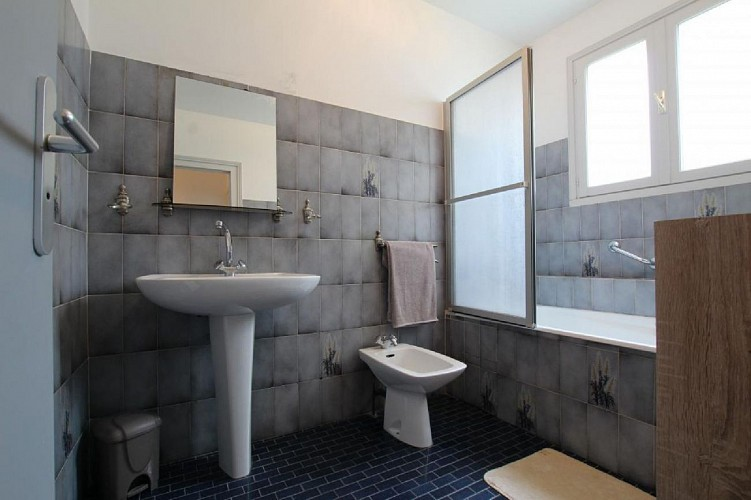 Maison Erramouspe salle de bain - Ascarat