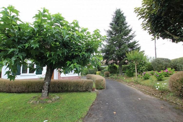 Maison Erramouspe jardin - Ascarat