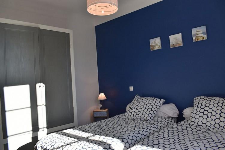 Maison mitoyenne chambre deux lits - Irouleguy