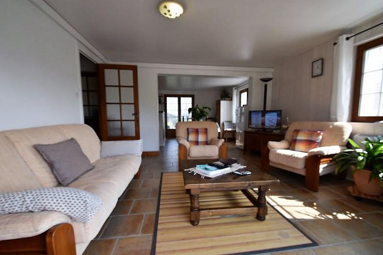 Location Urrutia - Espace séjour TV - Lasse