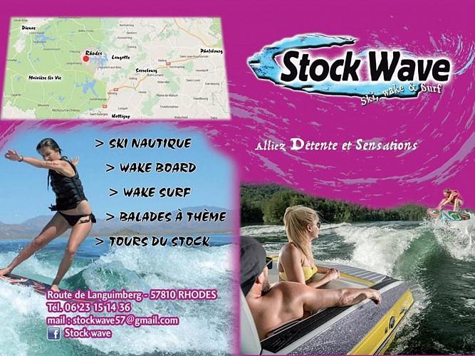 STOCK WAVE : ACTIVITÉS NAUTIQUES SUR L'ÉTANG DU STOCK