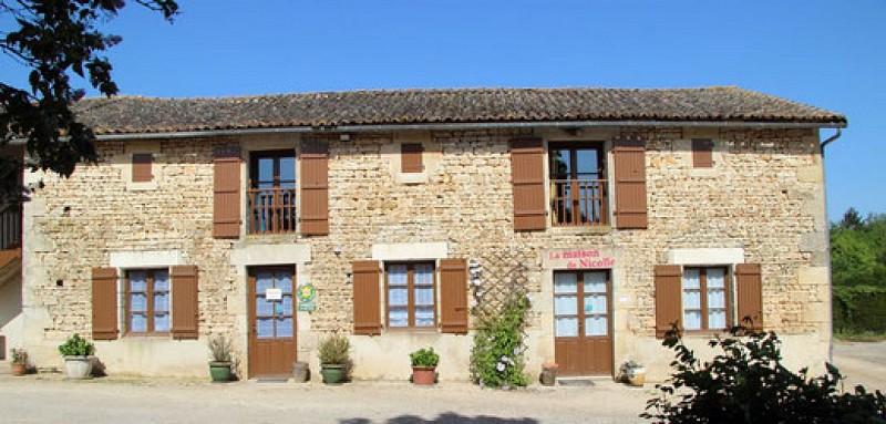Maison de la ferme Auberge du Puyd'Anché