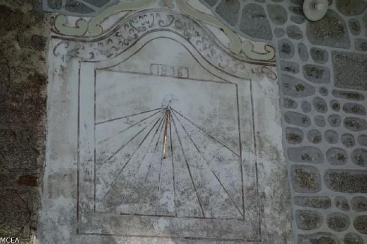 St Agnant près Crocq - Cadran solaire du Montgouyard