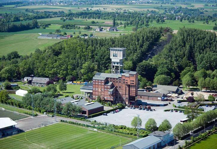 Blegny-Mijn, een oude steenkoolmijn in de provincie Luik