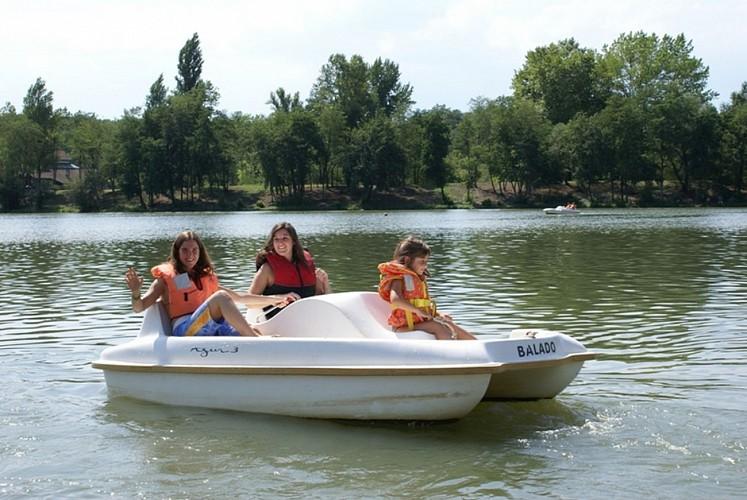 Lac de la base de loisirs