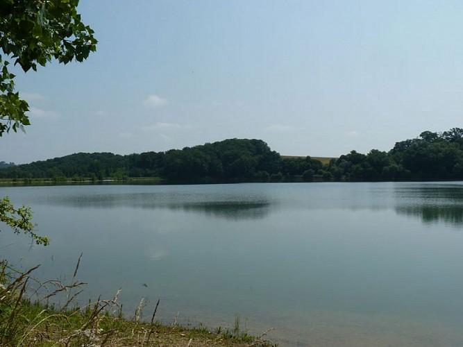 Lac de Corbère-Abères