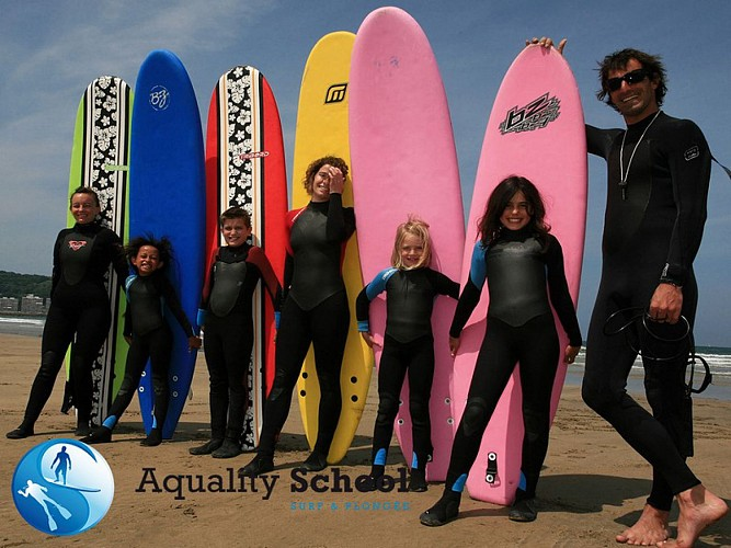 Aquality School Surf et Plongée