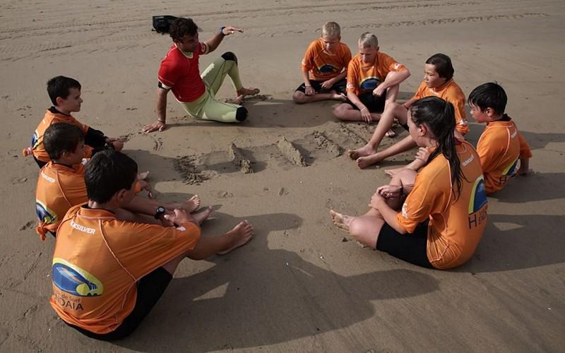 Ecole de surf Hendaia