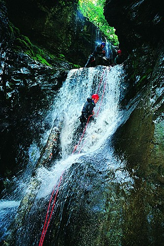 Eau Sud canyonning