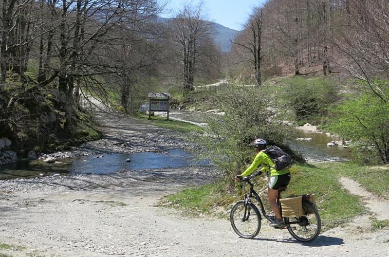 Cyclotourisme et autres activités en Forêt d'Iraty
