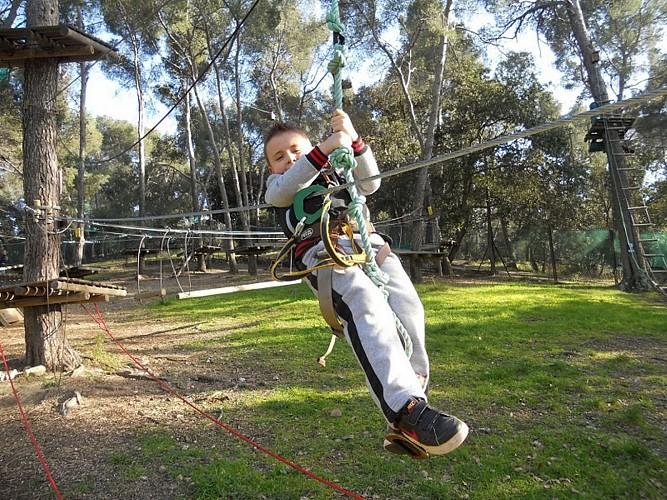 Parc acrobatique Au creux des Cimes