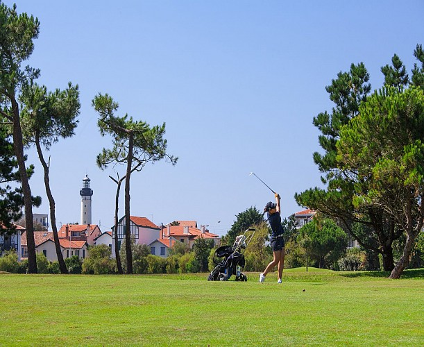Richard Simpson professeur de golf Biarritz le Phare