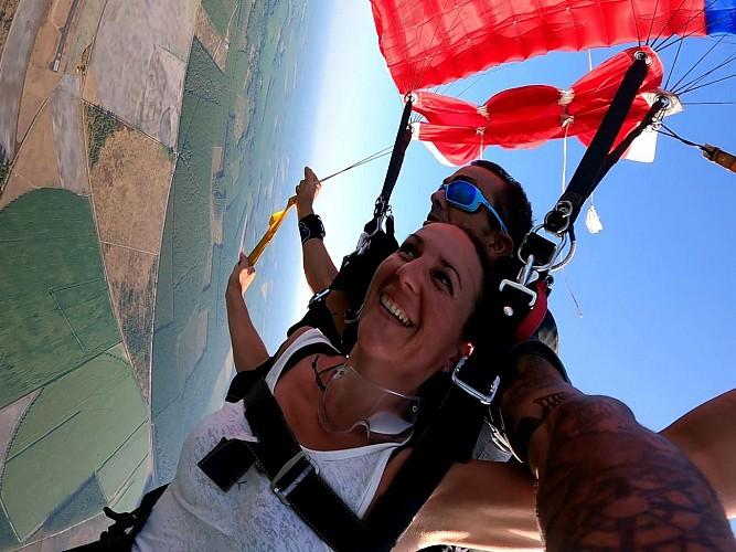 Fred - Parachutisme
