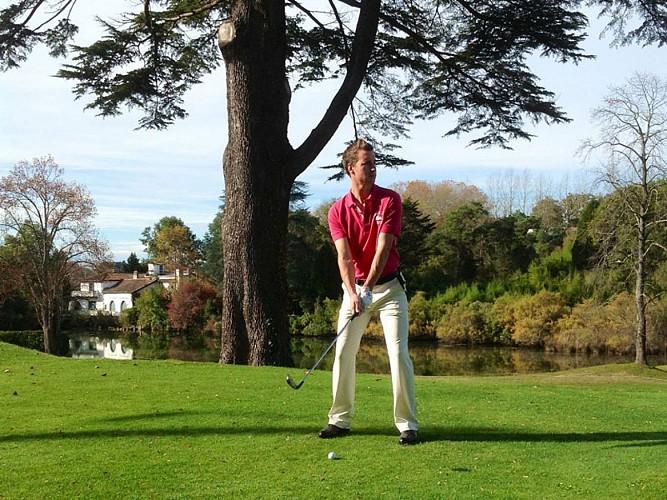 Benoît Billac, professeur de golf
