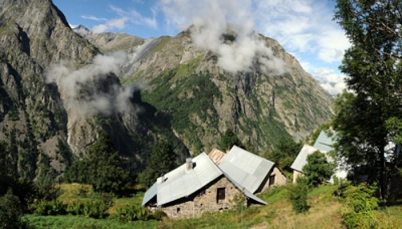 Hameau isolé du Puy
