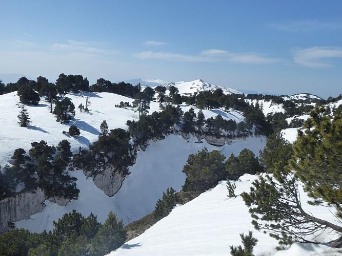 The Crêt de la Neige (Snow Crest)