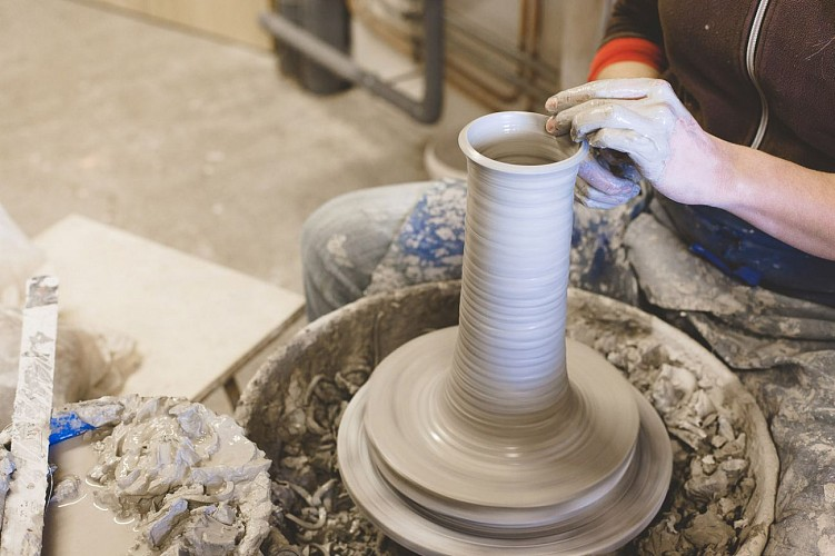 Hand-crafted pottery workshop