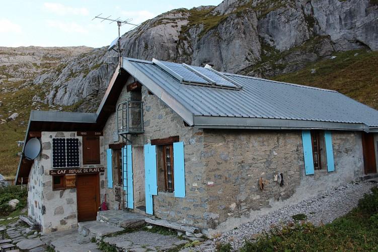 Mountain Refuge Hut: Refuge de Platé (FFCAM)