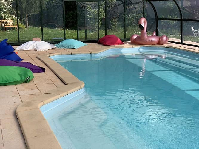Montaillon Gîte - piscine