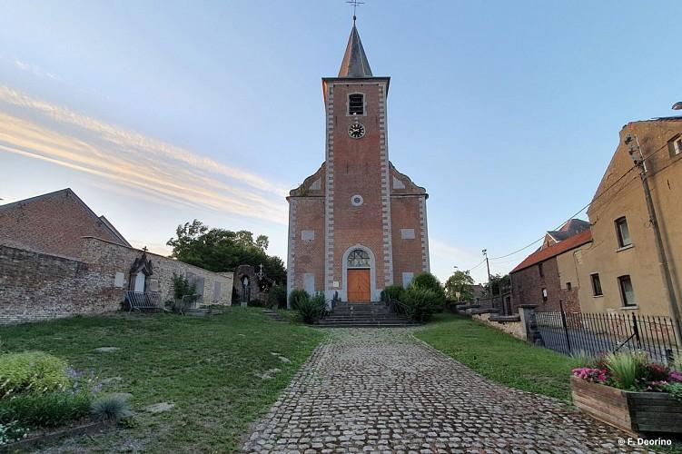 Eglise Saints Martin & Jacques de Houtain-le-Val