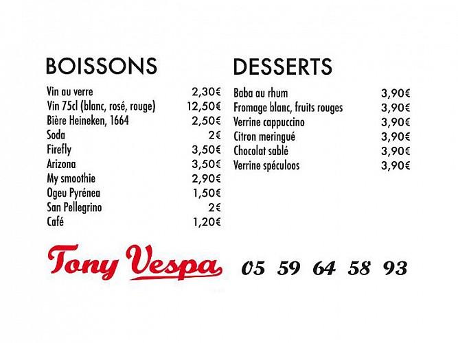 Tony Vespa Pizza