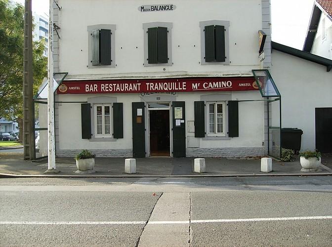 Bar Restaurant Tranquille