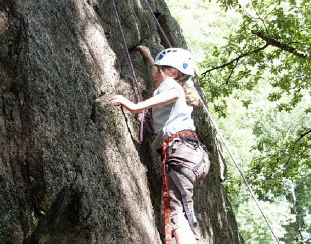 Climbing and tree climbing in the Brive region