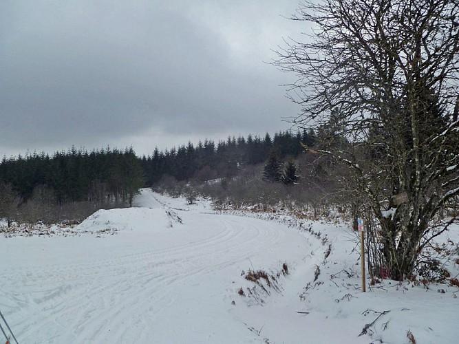 Langlaufen en Sneeuwlopen in Chadebec