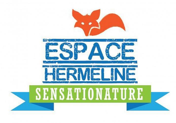 Supertyrolienne in Espace Hermeline