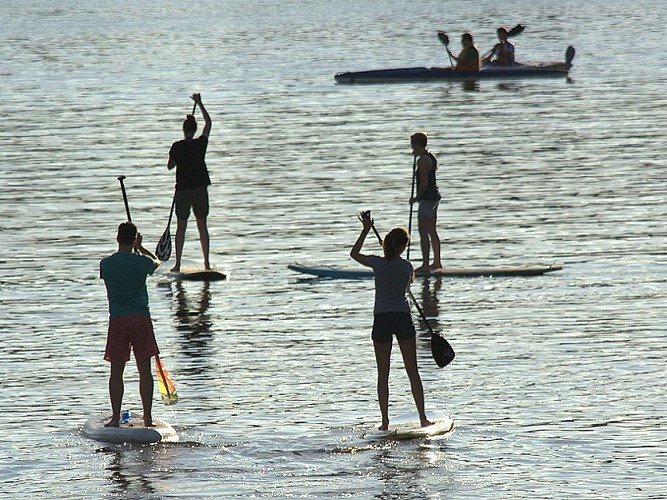 Stand-up paddle lessons