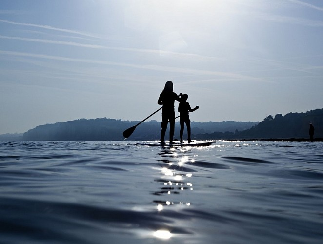 Paddle around the islands of the river Seine