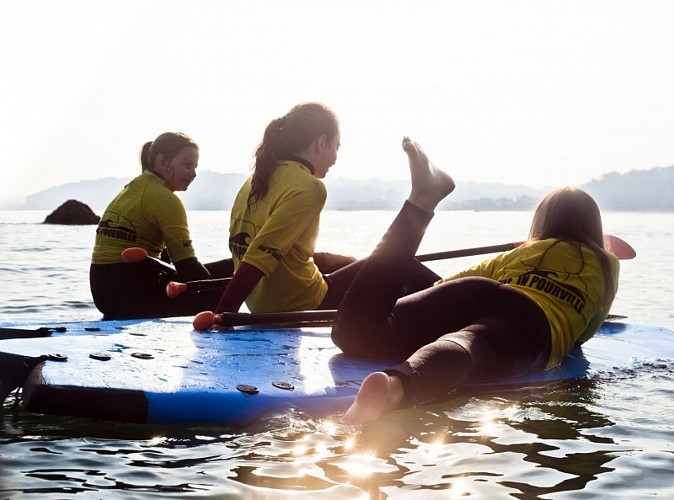 Share a fun water experience: giant SUP board in Pourville-sur-Mer