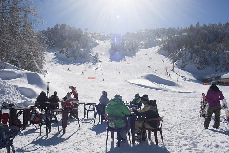 """Restaurant bar d'altitude """"Le Pas de l'Ours"""""""