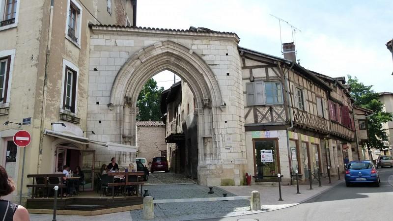 La porte des Jacobins