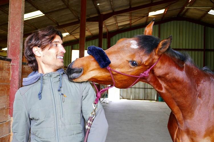 Karim et son compagnon