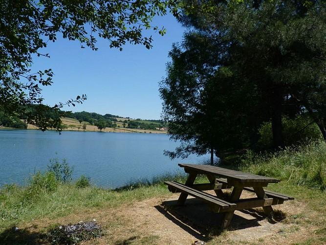 Aire de pique-nique Lac de Serres-Castet